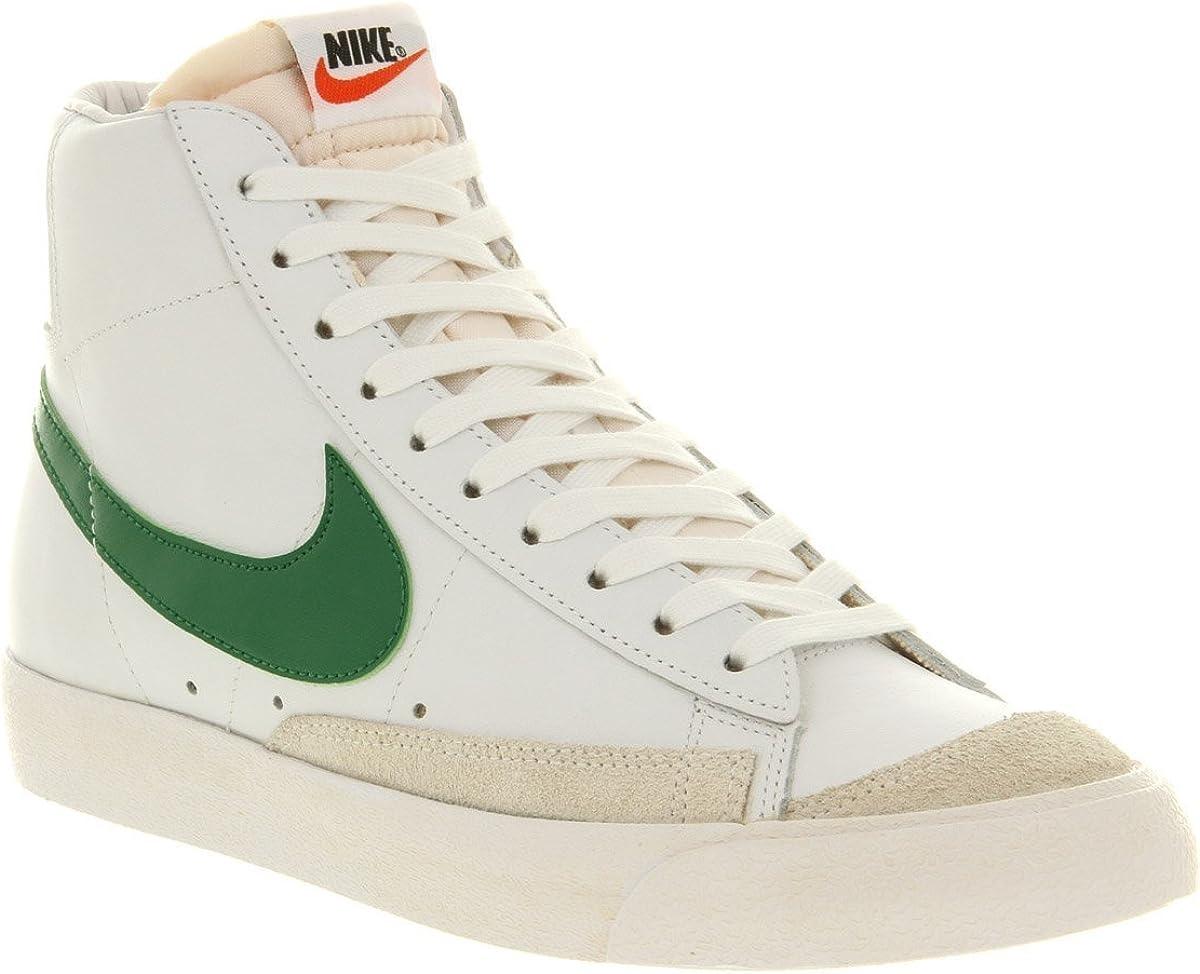 Amazon.com | Nike Blazer Vintage Mid 77 White Green Premium ...