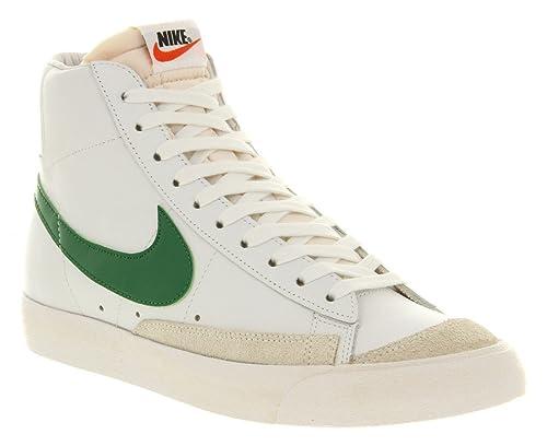 top brands available cute Amazon.com | NIKE Blazer Vintage Mid 77 White Green Premium ...