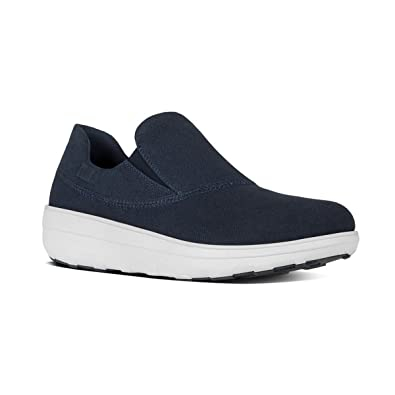 FitFlop Women's Loaff Sporty Slip-On Supernavy Sneaker 9 M ...