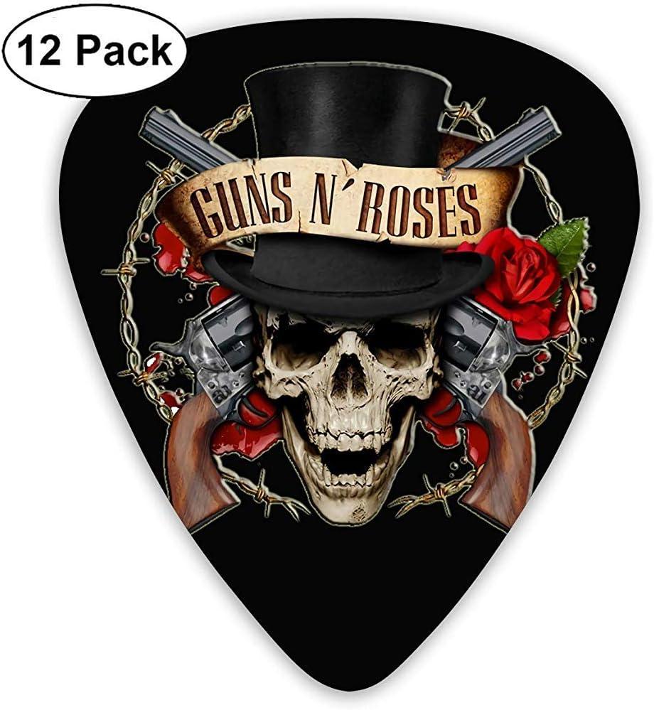 Guns N Roses Guitar Pick Mandolin Guitarra eléctrica Guitarra acústica y bajo: Amazon.es: Instrumentos musicales