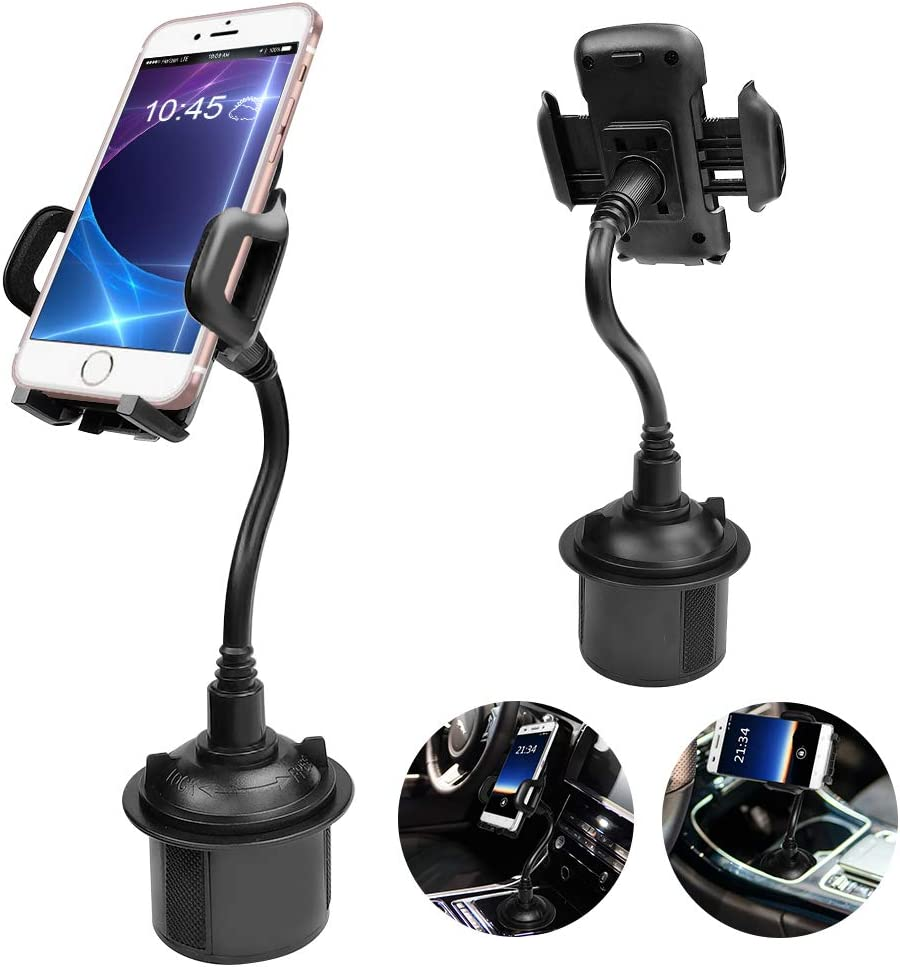 S8,GPS S9// S9 BTMAGIC Cell Phone Car Cradles /& Mounts,Universal Adjustable Cup Holder for iPhone Xs//Max//X//XR//8//8 Plus,Samsung Note 9// S10