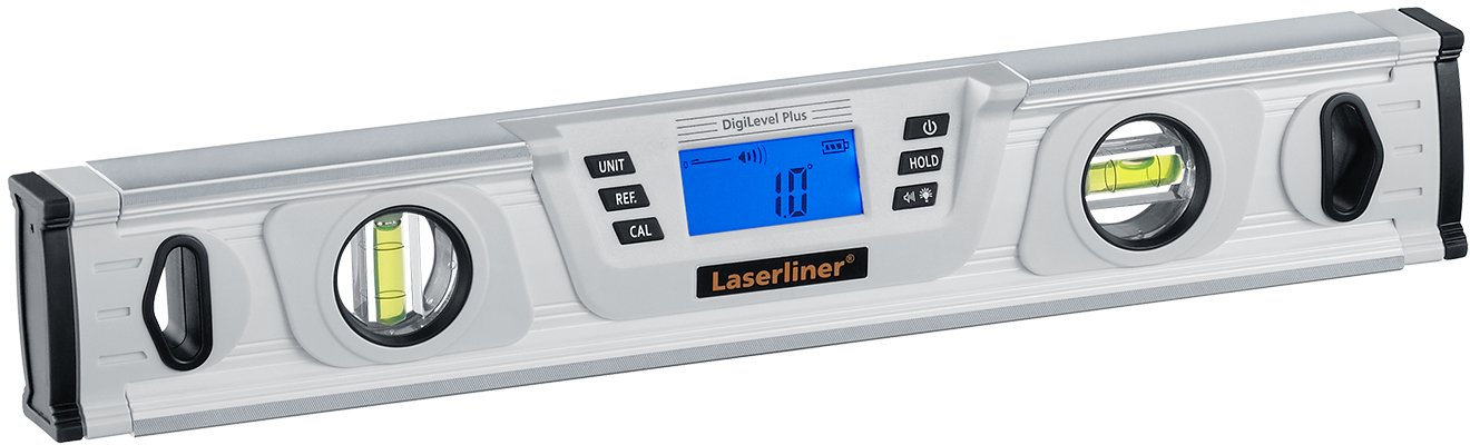 Laserliner DigiLevel Plus 40/ cm/  AAA,/%, Degree, mm//m, 0/ /–/ 50/ /°C,-20/ /–/ 70/ /°C, Silver / Levels