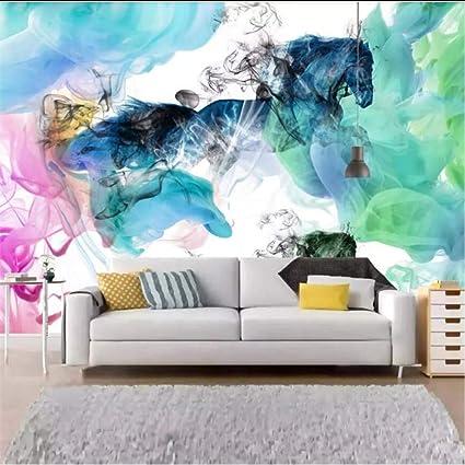 Amazon Com Hwhz Pared Horse To Success Abstract Artistic Concept