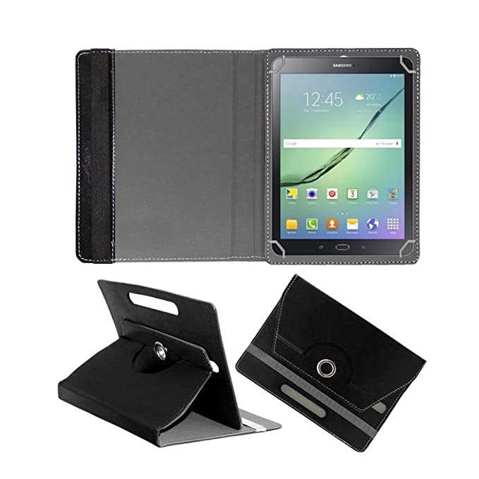 Fastway 360 Degree Rotating Tablet Book Cover for Samsung Galaxy Tab S2 32   GB 9.7 inch with Wi Fi+4G Tablet Black