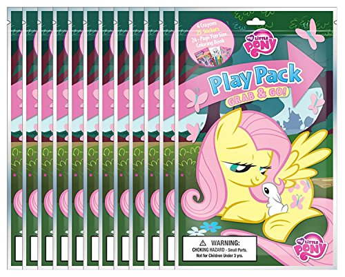 Bundle of 12 My Little Pony Grab & Go Play Packs