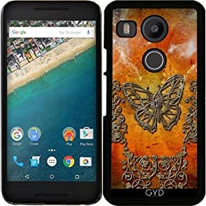 Funda para Google Nexus 5X (LG) - Mariposas Decorativas by nicky2342