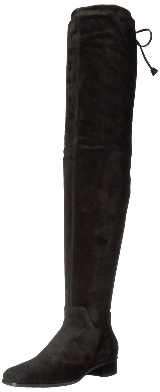 Aquatalia Women's Lisabetta Suede Knee High Boot B06WLKXM15 6.5 B(M) US|Black