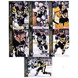 2015-16 Upper Deck Pittsburgh Penguins Team Set of 7 Cards: Derrick Pouliot, Chris Kunitz, Marc-Andre Fleury, Evgeni Malkin, Kris Letang, David Perron, Patric Hornqvist in Protective Snap Case
