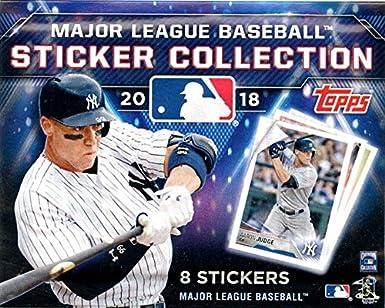 Amazon com: (1) 2018 Topps Baseball MLB Stickers Unopened