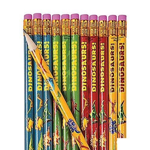 Boy Pencils - Dinosaur Pencils ~ 24 Pencils ~ #2 lead ~ New