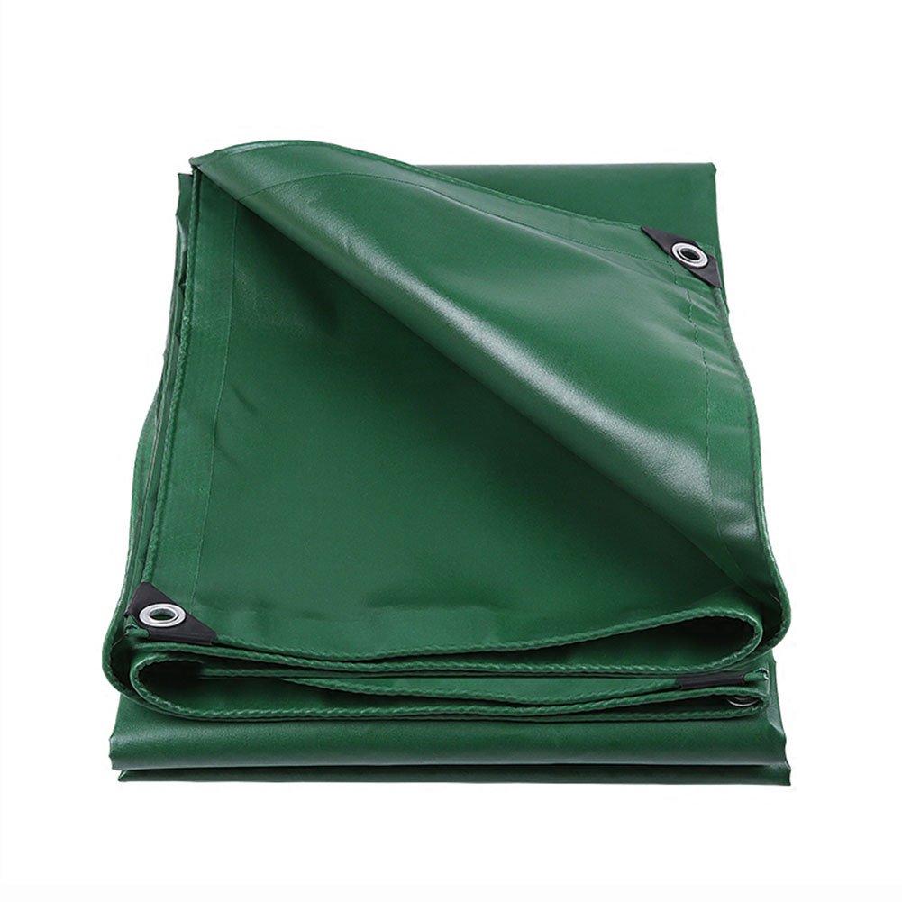 WUFENG オーニング 耐寒性 日焼け止め うどんこ病 厚い ハーディー 耐酸性と耐アルカリ性 テント リノリウム カーポート 屋外 厚さ0.4mm 550g/M2 (色 : 緑, サイズ さいず : 3x6m) B07DGGB44C 3x6m|緑 緑 3x6m
