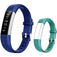 BIGGERFIVE Fitness Tracker Horloge voor kinderen jongens meisjes tieners, stappenteller, activiteitentracker…