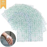 Yesoa - 50 Piezas de Cinta Adhesiva Transparente