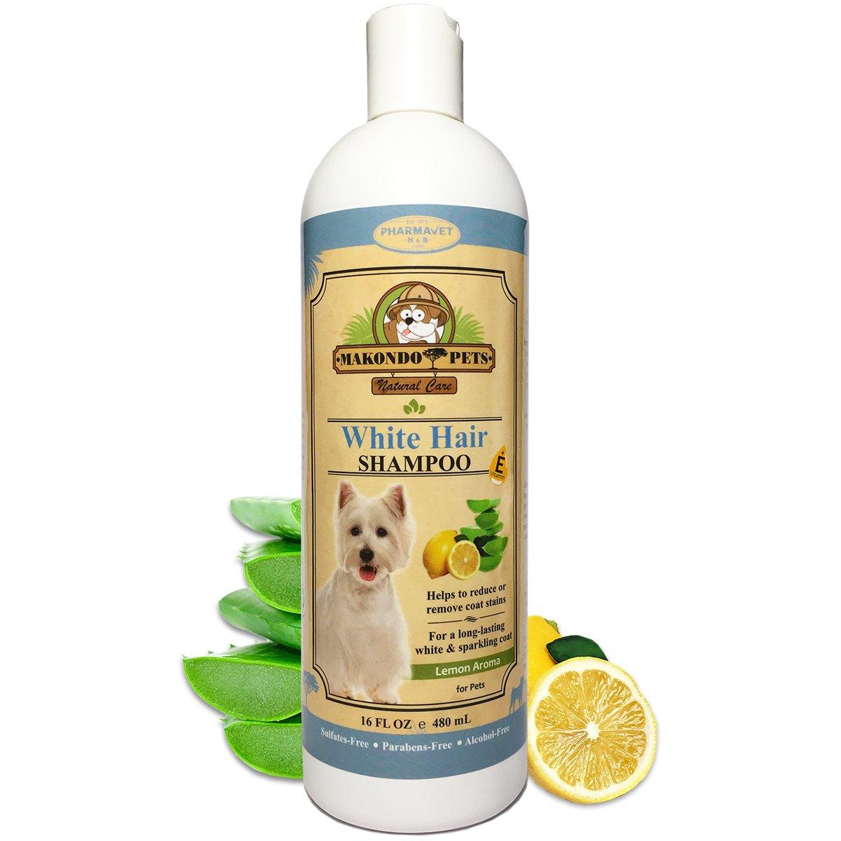 Pet Shampoos : Amazon.com: Makondo Pets Dog Whitening Shampoo- For ...