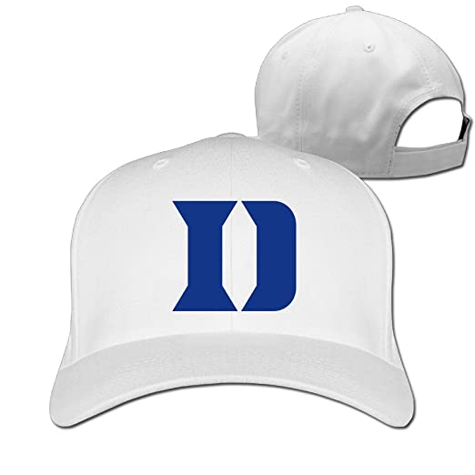 Amazon.com  WG Custom Latest Personalized Duke University Blue Devils D Baseball  Cap Hat White  Home   Kitchen 02ba1d9fbd11