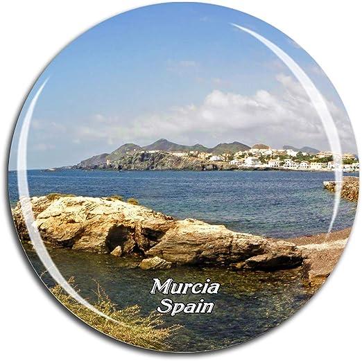 Weekino España Murcia Imán de Nevera 3D de Cristal de Turismo de ...