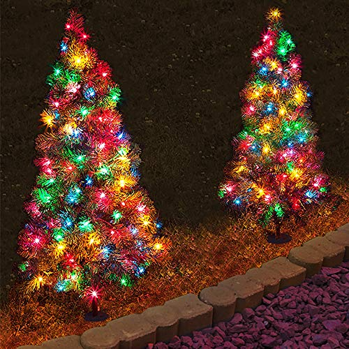 Indoor Outdoor Lighted Trees in US - 9