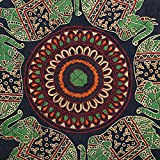 Indian Cotton Mandala Green Printed Tea Cosy