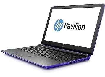 "HP Pavilion 15-ab052ns Negro, Púrpura Portátil 39,6 cm (15.6"""