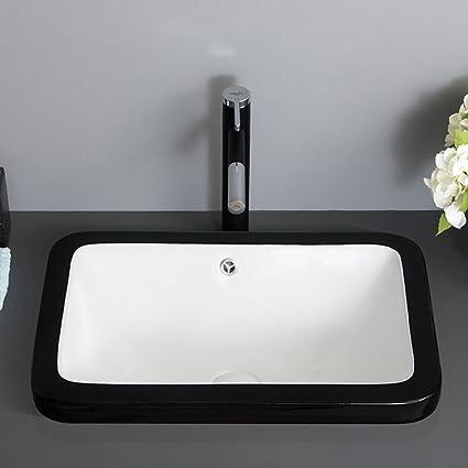 Gaoli Lavabo Negro Minimalista Nordico Lavabo Taichung Lavabo Semi - Lavabos-minimalistas