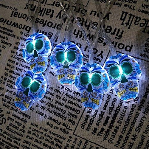 Led Skull String Lights - 1