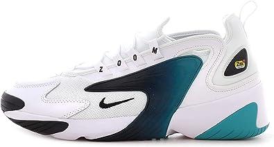 artillería Repetido carpeta  Nike Men's Zoom 2K Running Training Shoes AO0269-106  White/Black-Teal-Nebula (9): Amazon.ca: Shoes & Handbags