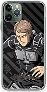 Phone Case Shingeki No Kyojin Jean Kirstein Compatible with iPhone 12 11 X Xs Xr 8 7 6 6s Plus Mini Pro Max Samsung Galaxy Note S9 S10 S20 Ultra Plus