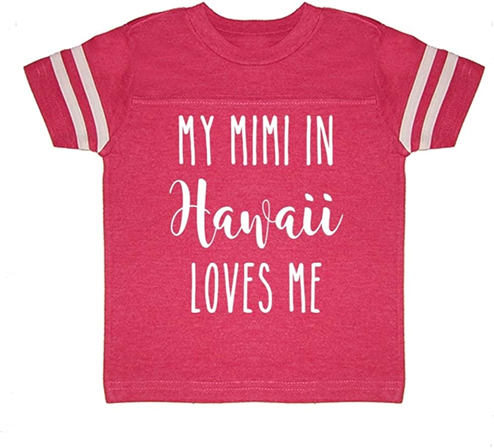 My Mimi in Hawaii Loves Me Toddler//Kids Sporty T-Shirt