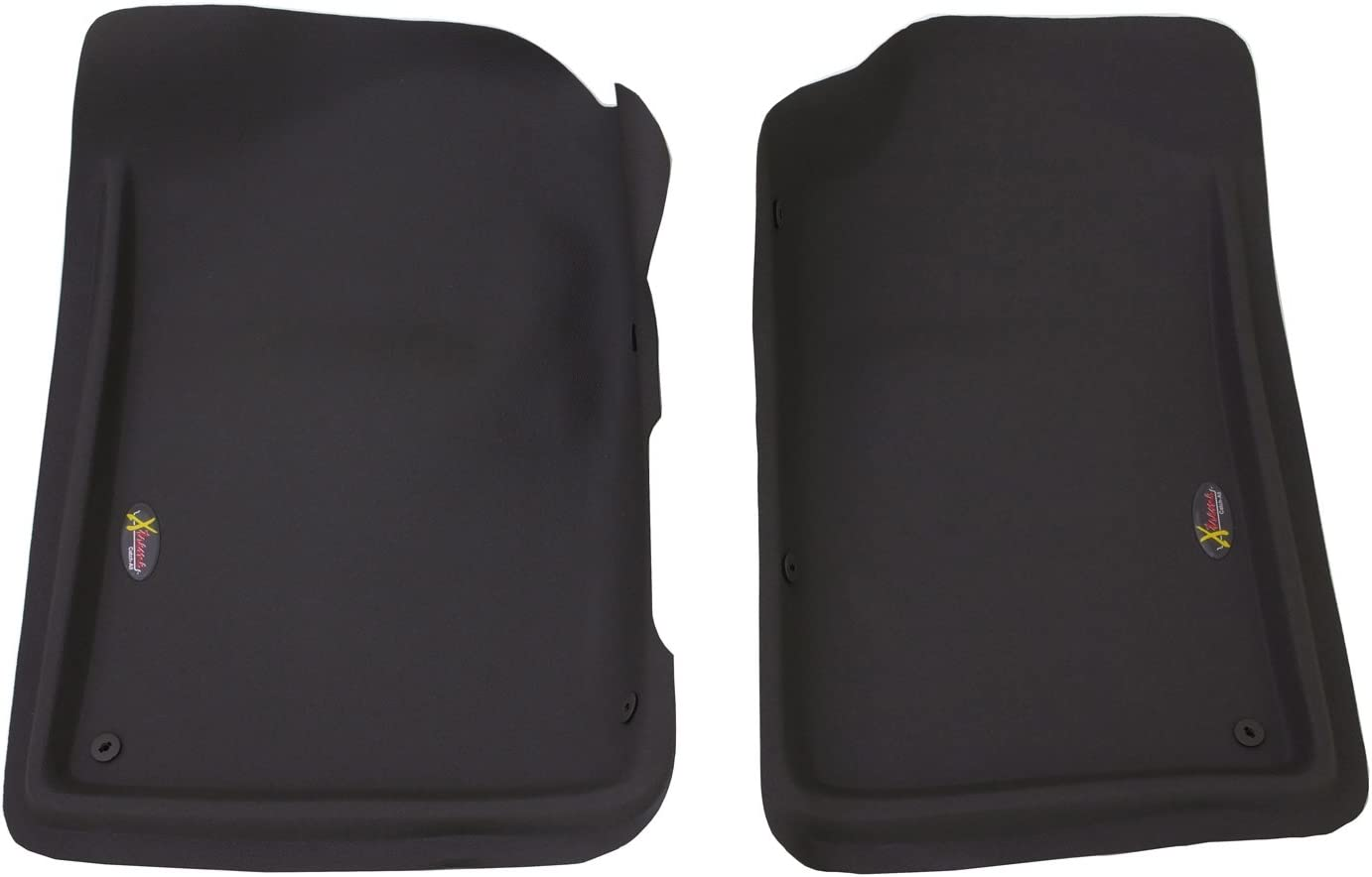 Lund 400101 Catch-All Xtreme Black Front Floor Mat Set of 2