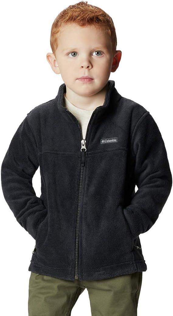 12//18M Infant Boys Bright Indigo//Collegiate Navy Columbia Steens II Mountain Fleece Jacket