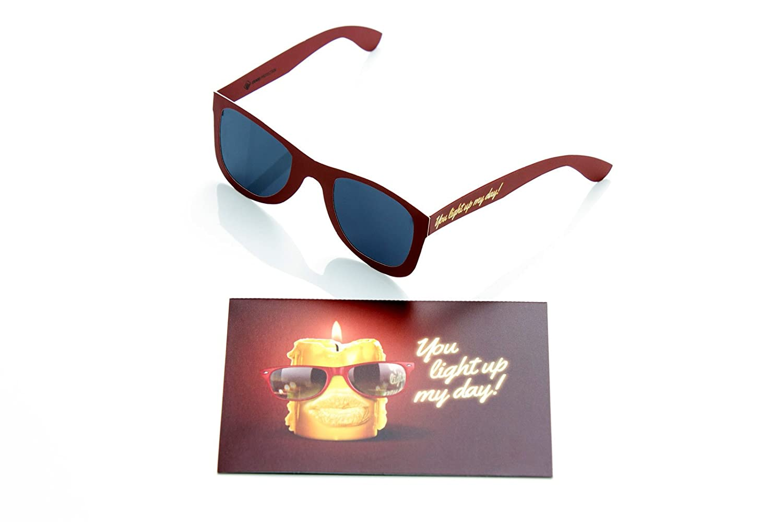 Juego de 2, tarjeta de cumpleaños con gafas de sol I tarjeta ...