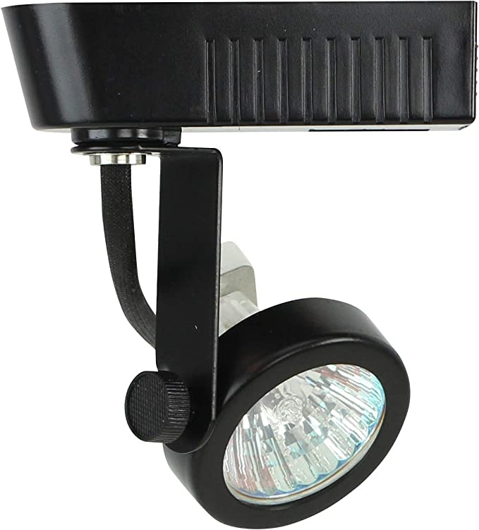 Direct Lighting 50016 Black Mr16 Gimbal Ring Low Voltage Track Lighting Head