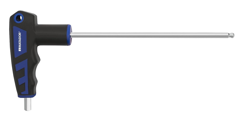 Matador 2 K T-Handle Allen Wrench, Hex, 2 mm, 0445 0020 2mm 04450020 0445 0020