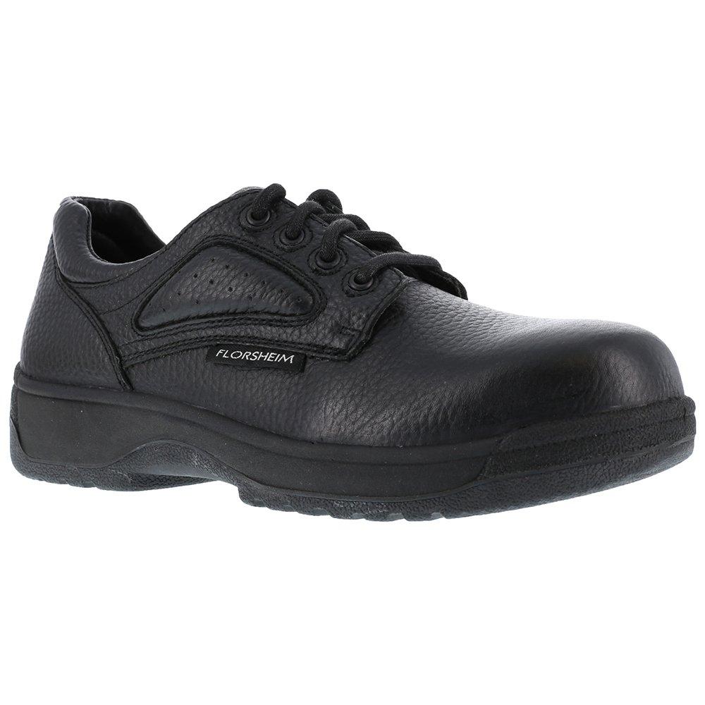 FS246 Florsheim Women's Eurocasual Safety Shoes - Black - 9.5 - 3E by Florsheim