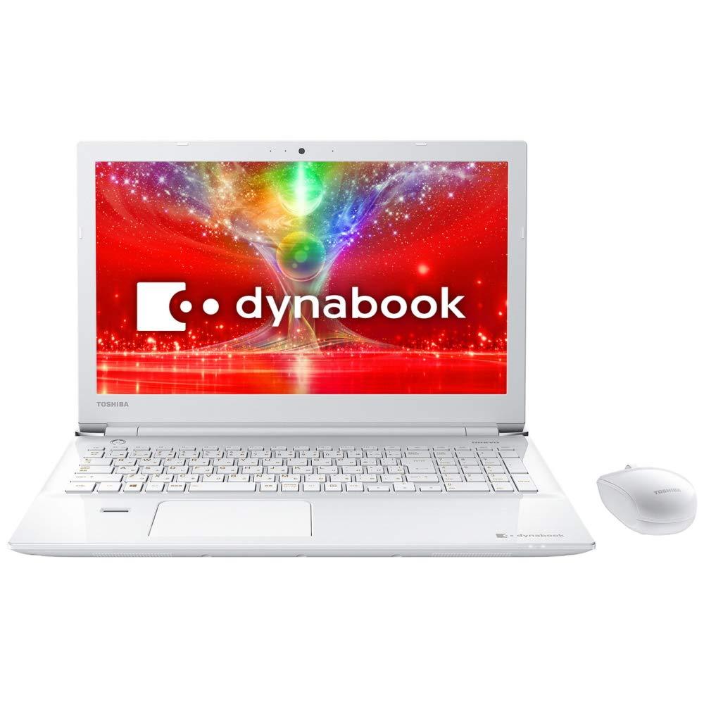 東芝 スタンダードノートブック dynabookT55/EWPシリーズ (W)リュクスホワイト PT55EWP-BJA2   B076HP5DPL