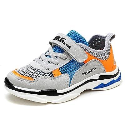 Axcer Mixte enfant Chaussures de Sport Ultra-Léger Respirantes Chaussures de Course Multisports Outdoor Sneakers Gymnastique Fitness Running Baskets Mode pour Garçon Et Fille