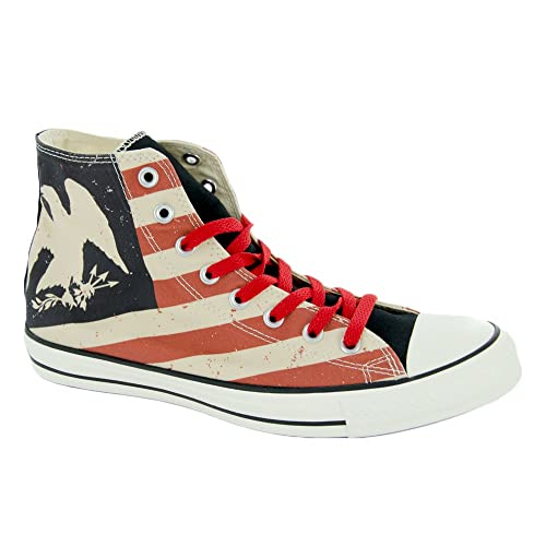 Converse Chuck Taylor All Star Americana Print Hi Shoes 275b3e4ef