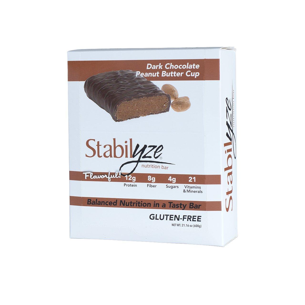 Stabilyze Nutrition Bar Dark Chocolate Coconut Cashew
