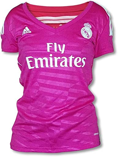Camiseta Real Madrid 2ª -Mujer- 2014-15: Amazon.es: Deportes y ...