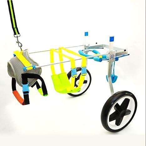 Silla de ruedas para perros ajustable Silla de ruedas para perros - Para la mayoría de los ...