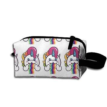 Arco iris vomitar unicornios colgar bolsa para maquillaje ...