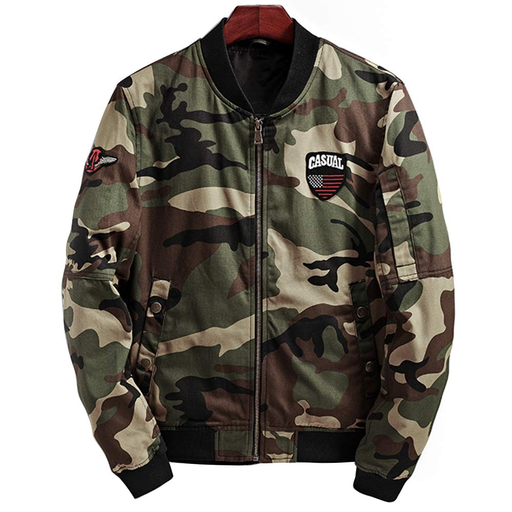 INFLATION OUTERWEAR メンズ B07H3L9DCB US SIZE XS (Tag M)|Camouflage1 Camouflage1 US SIZE XS (Tag M)