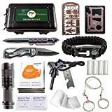 Emergency Survival Kit - 35 PCS Outdoor Gear and Survival Tools for...