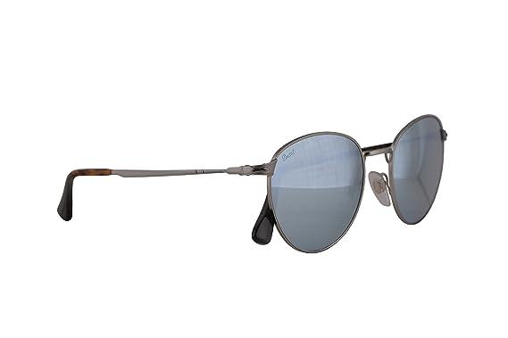 44dd648fdb Amazon.com  Persol PO2445S Sunglasses Demi Gloss Gunmetal w Light ...