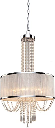 Artcraft Lighting Valenzia 6-Light Drum Chandelier