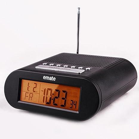GAOHL Electrónica Radio reloj despertador Digital led pantalla