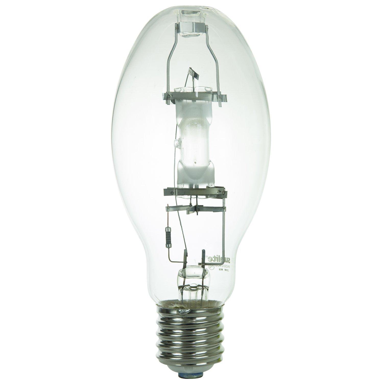 Sunlite 03658-SU MH250/U/MOG M58 Metal Halide Lamp, 250 Watts, Mogul Base (E39), ED28, 15,000 Hour Life Span, 21000 Lumen, Clear Finish