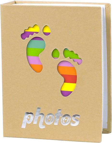 NLC Small Photo Album Small Photo Album 4x6 100 Pockets Baby Girl Photo Album