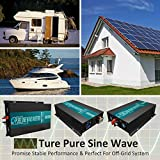 WZRELB 3000w Pure Sine Wave Solar Power Inverter