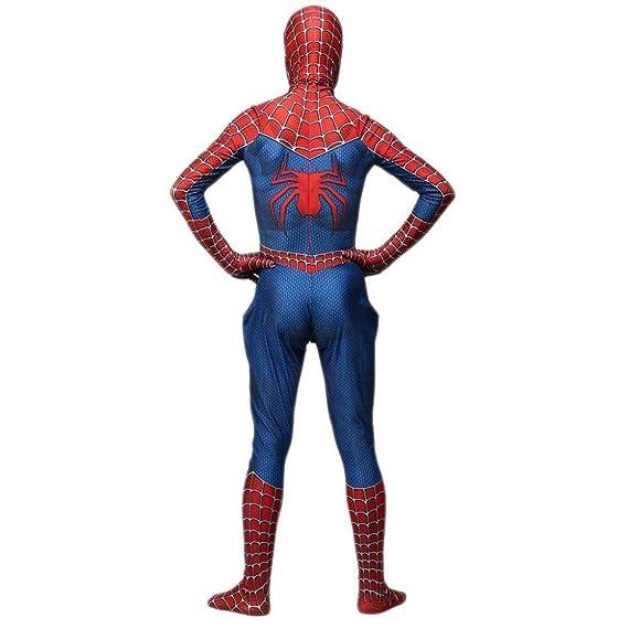 ERTSDFXA Clásico Spider Man Impresión 3D Cosplay De Halloween ...